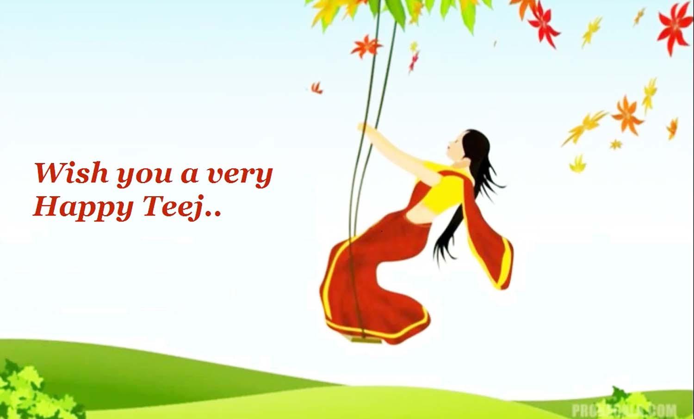 happy teej hd wallpapers