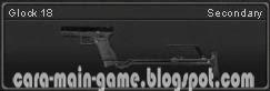 Senjata Point Blank Glock 18
