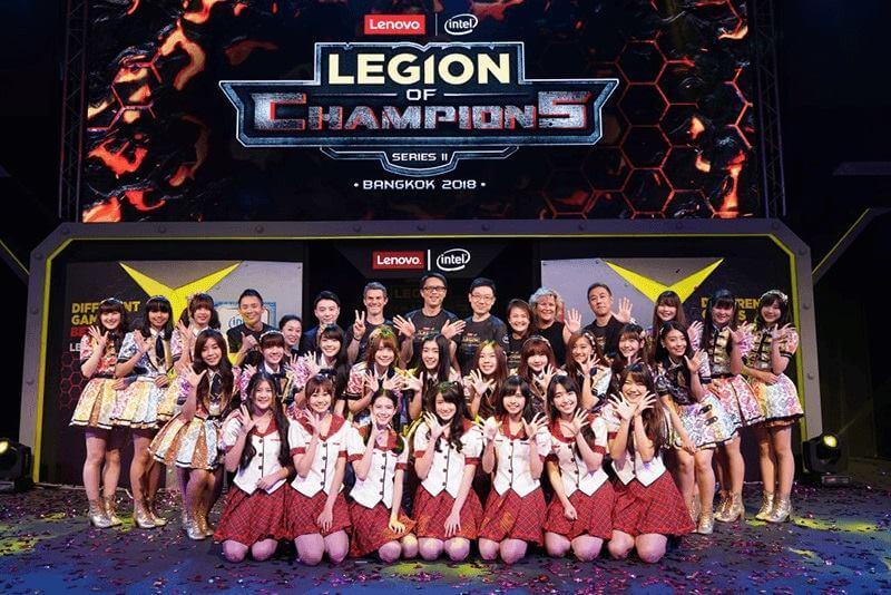 Lenovo Kicks Off Legion of Champions Series II Grand Finale