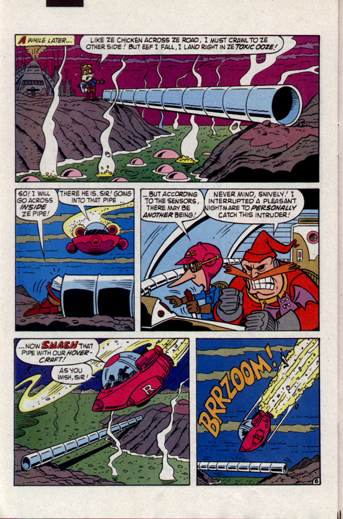 Read online Sonic The Hedgehog comic -  Issue #23 - 25