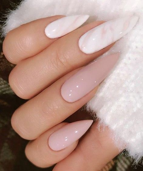 Marble Nails Are Always A Hit