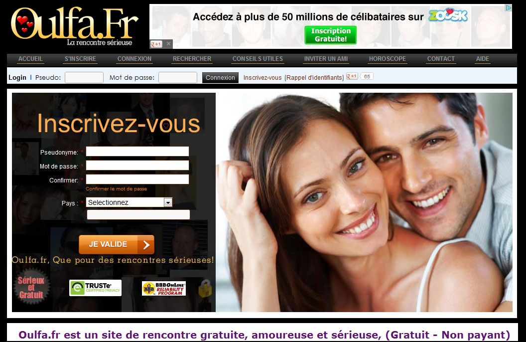 site oulfa rencontre