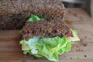 Bezglutenowy chleb czysto-ziarnisty