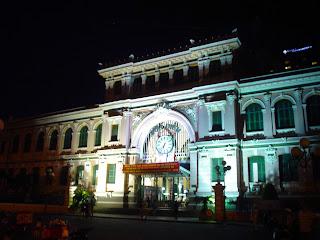 Bureau de poste à Ho Chi Minh