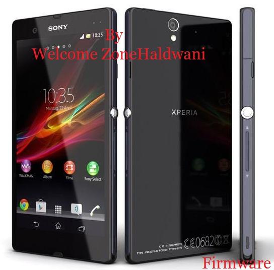 New Sony Xperia Z C6603 Original Firmware Download (All