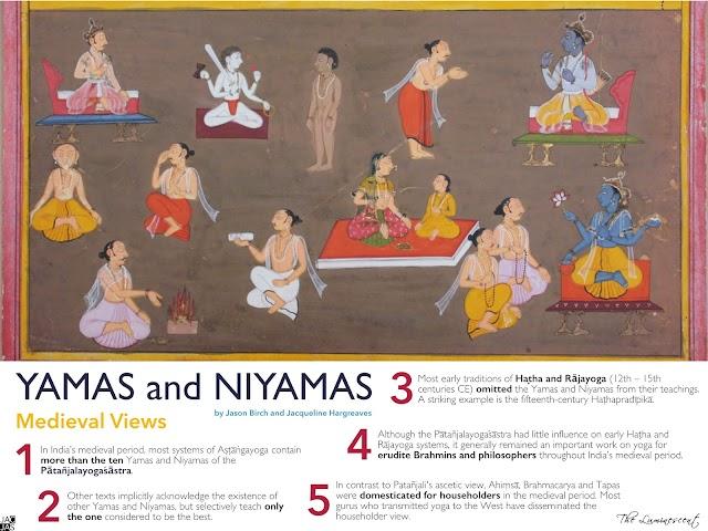 The Yamas and Niyamas: Medieval and Modern Views