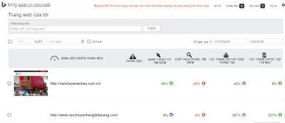 Bing master tool