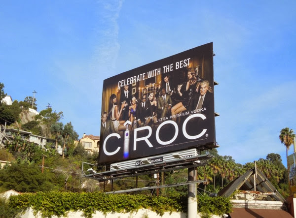Ciroc Celebrate with best billboard