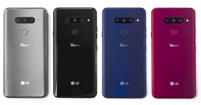 إل جي تكشف عن هاتفها الجديد LG V40 ThinQ بخمسة كاميرات
