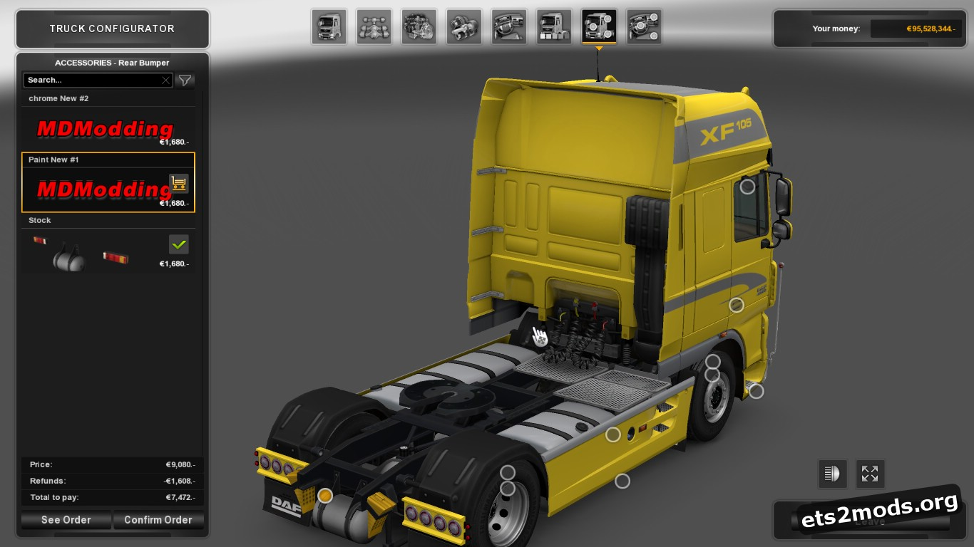 New Accessory for DAF XF