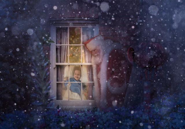 """Fotografi visitano più di 200 bambini malati negli ospedali per realizzare """"magiche"""" foto di Natale"""
