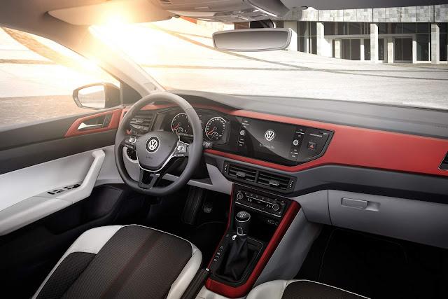 Novo VW Polo 2018 Beats - interior