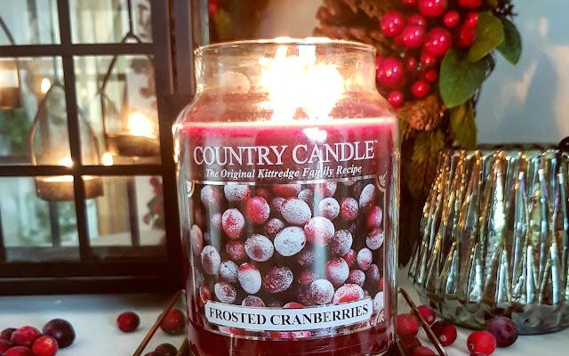 Frosted Cranberries, Country Candle  - Czytaj więcej »