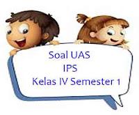 Soal UAS IPS Kelas IV Semester 1