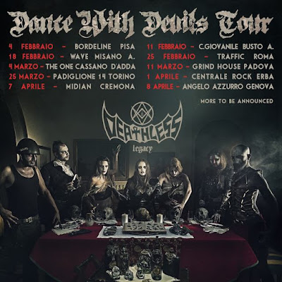 Deathless Legacy - Dance with Devils tour 2017