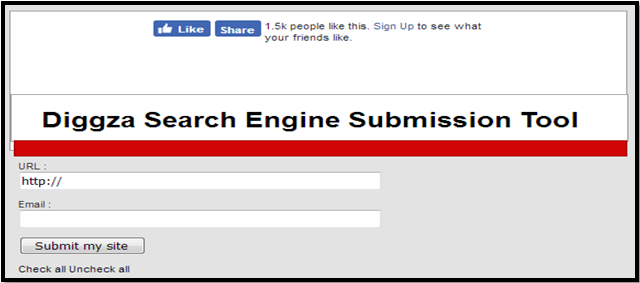 Diggza Free Website Submission Search Engines