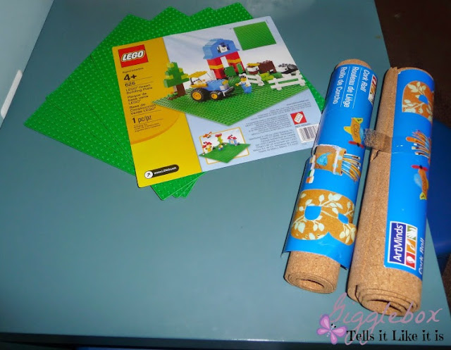 DIY LEGO table, DIY kids toys, LEGO table, LEGO table with removable LEGO plates,