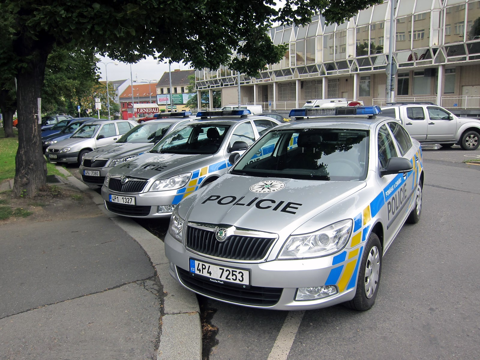 Auto Sale Czech Republic: Transpress Nz: New Skoda Police Cars, Pilsen, Czech Republic