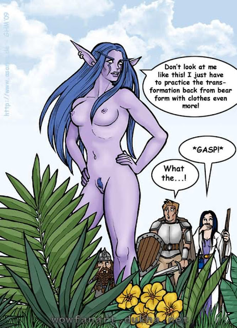 Ночная эльфийка-друид