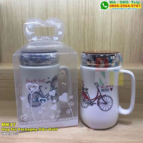 Mug Poli Packaging Mika Motif
