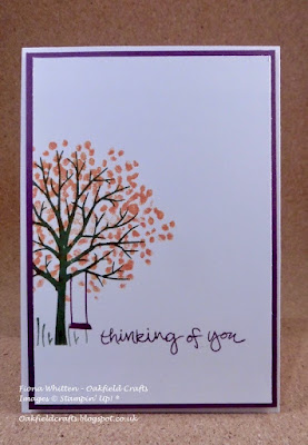 Sheltering Tree, Autumnal card, cards for men