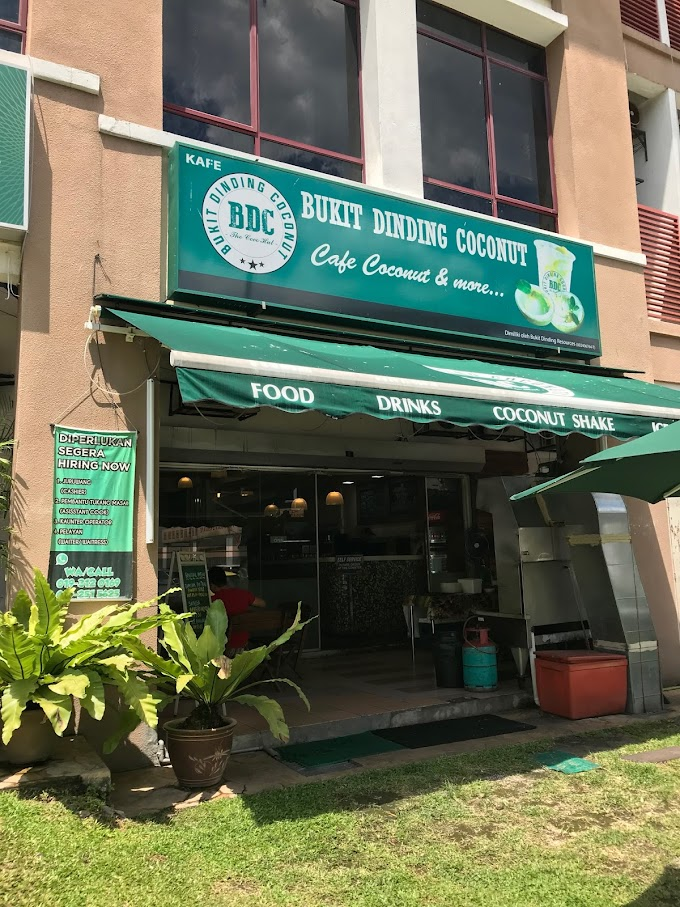 Coconut Shake Sedap di KL | BDC Kafe