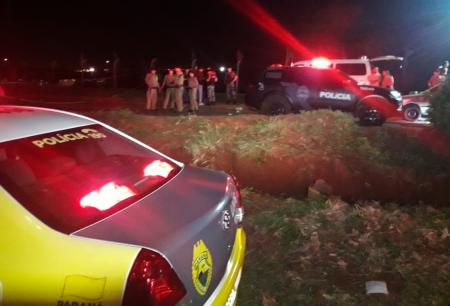 Jovem atropela oito pessoas em saída de festa e é morto a tiros pela PM