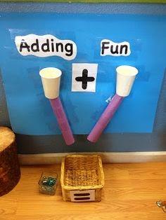 لعبة لتعليم مفهوم عملية الجمع للاطفال
