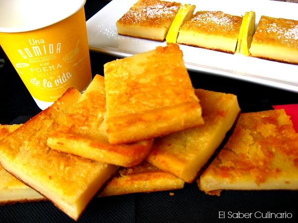 Quesada fácil con leche evaporada y queso fresco batido