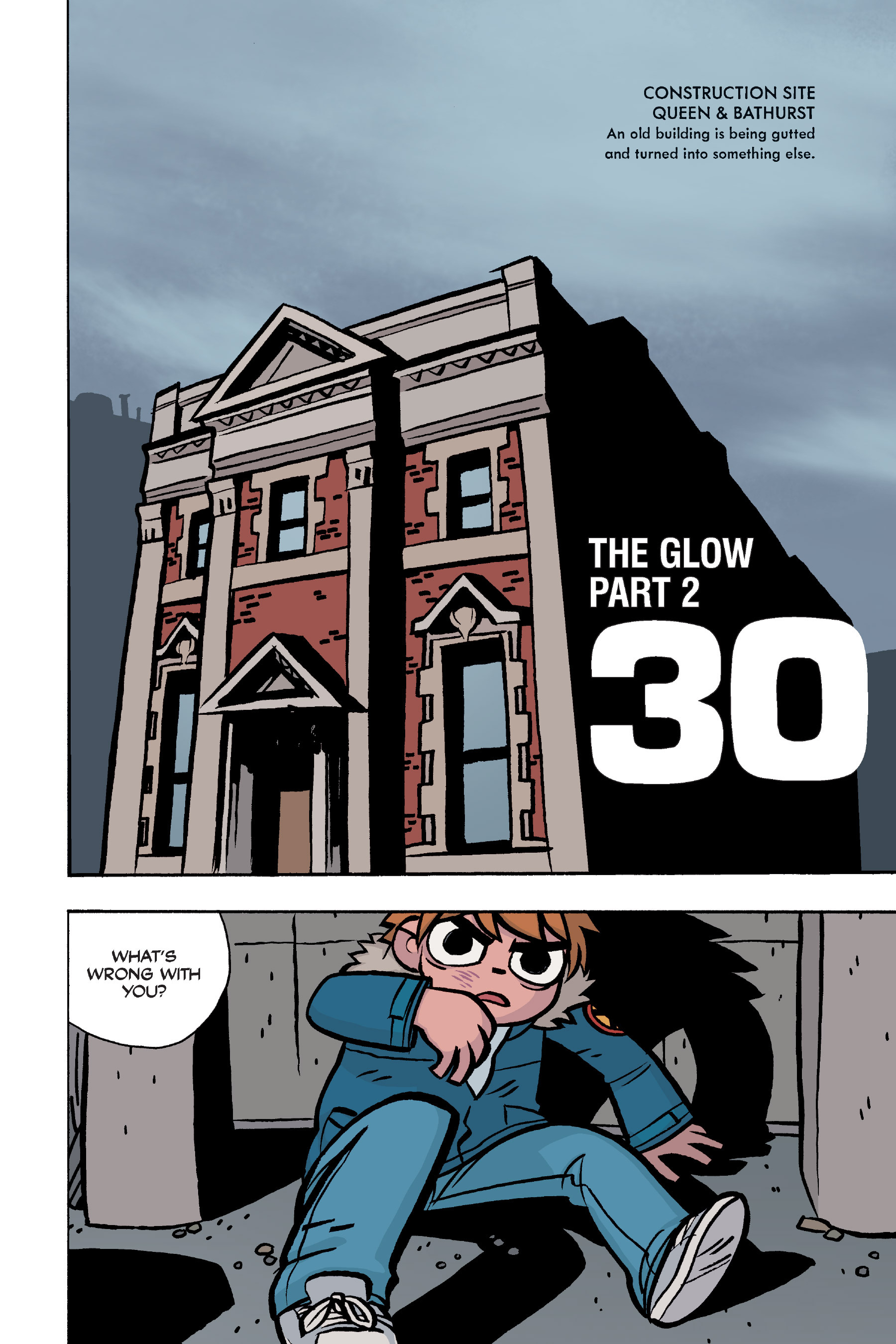 Read online Scott Pilgrim comic -  Issue #5 - 116
