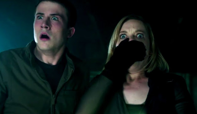 "Dylan Minnette and Jane Levy are in over their head in the thriller ""Don't Breathe"""