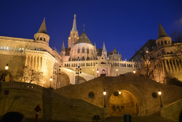 Budaest by night