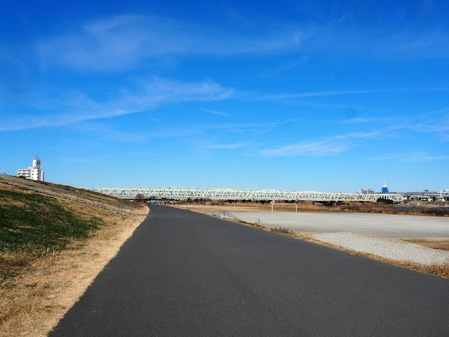 荒川自転車道 東武スカイツリーライン