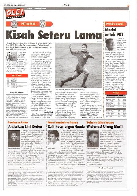 PKT VS PSM KISAH SETERU LAMA