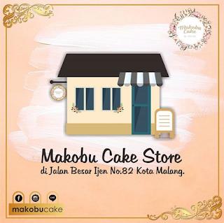 Alamat Makobu Cake by Krisdayanti di Malang