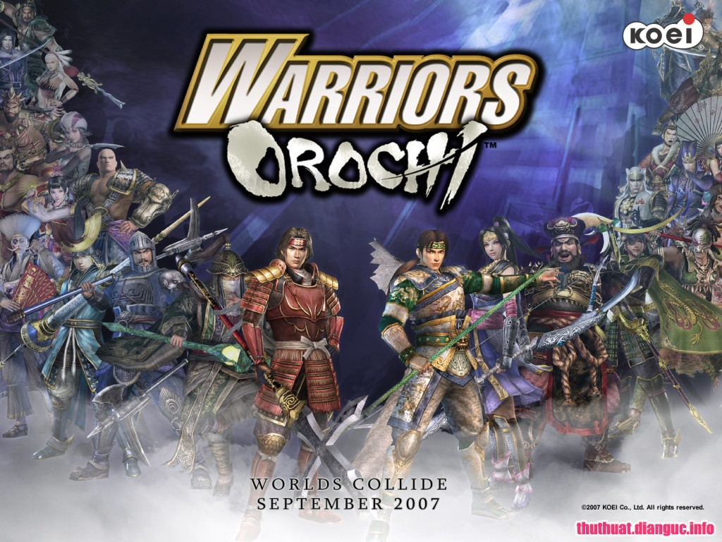 Download game Warriors Orochi free Fshare