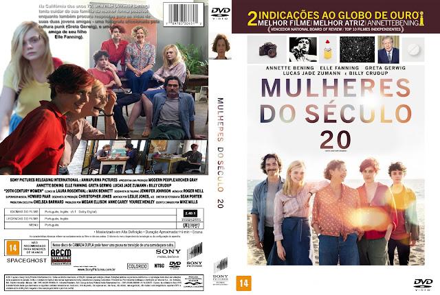 Capa DVD Mulheres Do Século 20