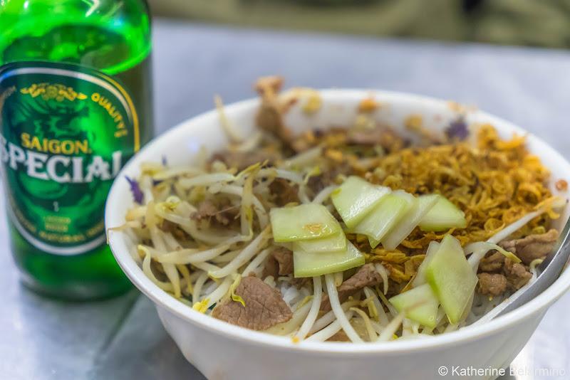 Bún Bò Nam Bộ Traditional Vietnamese Food