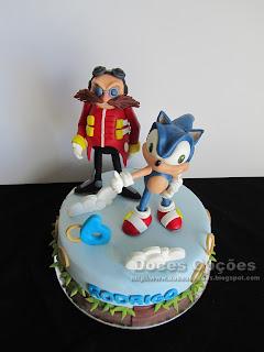 Doctor Eggman sonic cake