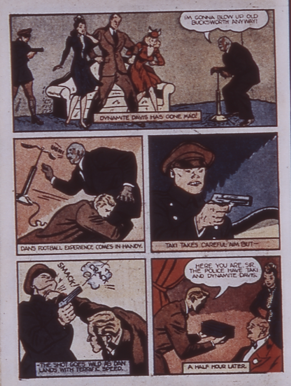 Read online WHIZ Comics comic -  Issue #3 - 58