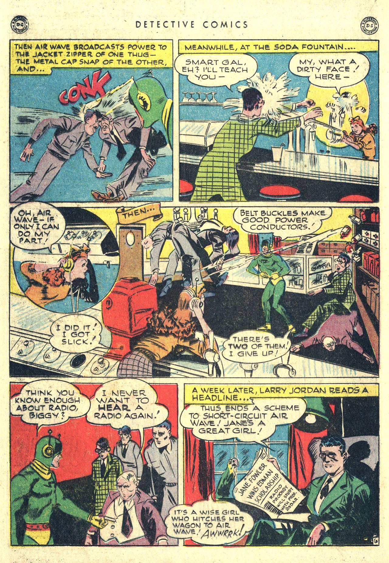 Read online Detective Comics (1937) comic -  Issue #116 - 22