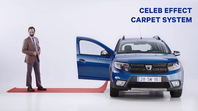 Car Brand DACIA Launches an Unnecessary Line of Accessories in Portugal.