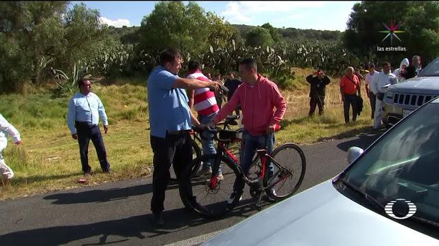 """DIRECTIVO de TELEVISA PASEABA en """"BICI de 200 MIL"""", lo MATO SU ESCOLTA,NO ASALTANTES"""