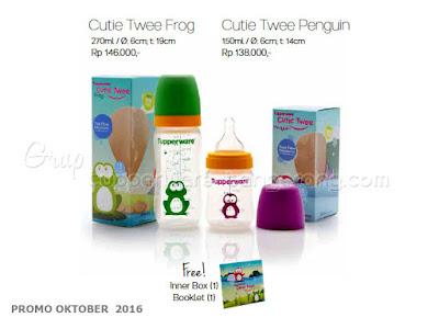Cutie Twee Frog dan Penguin ~ Tupperware Promo Oktober 2016