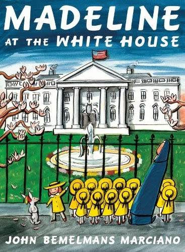 Madeline at the White House, part of book review list about the United States