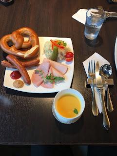 German cafe in Osaka