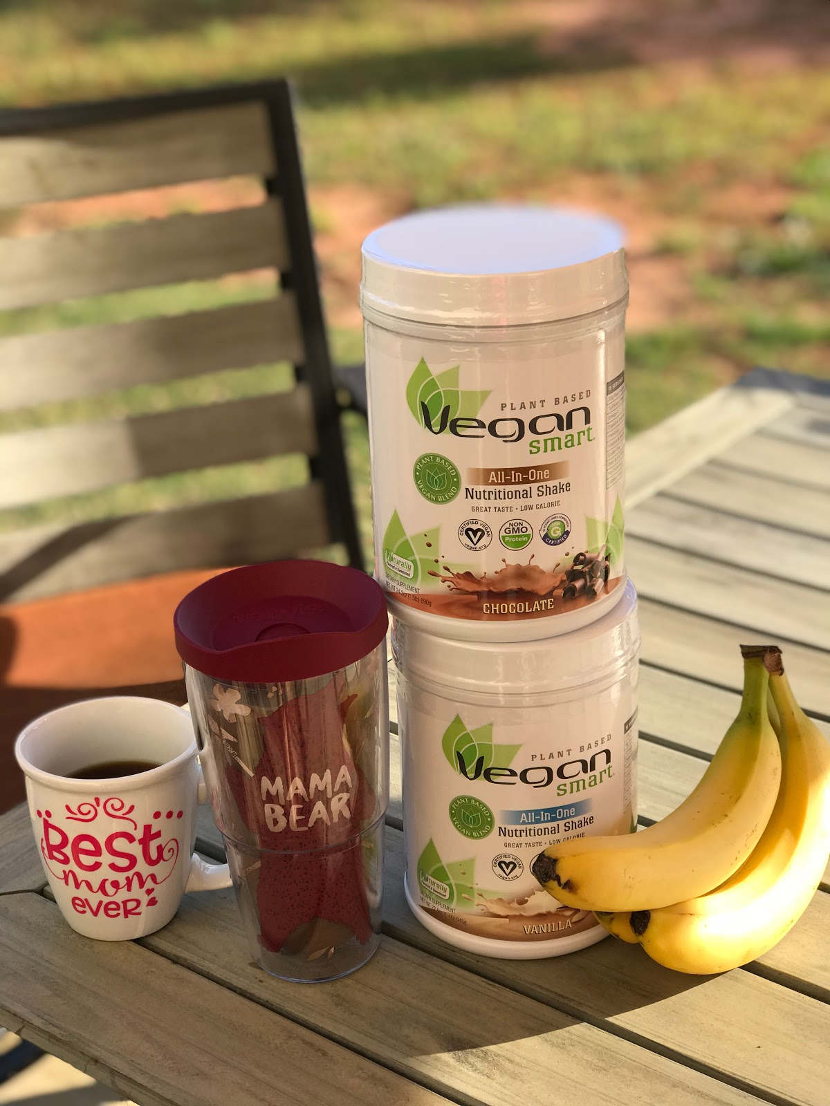 Vegan Coffee Protein Shake