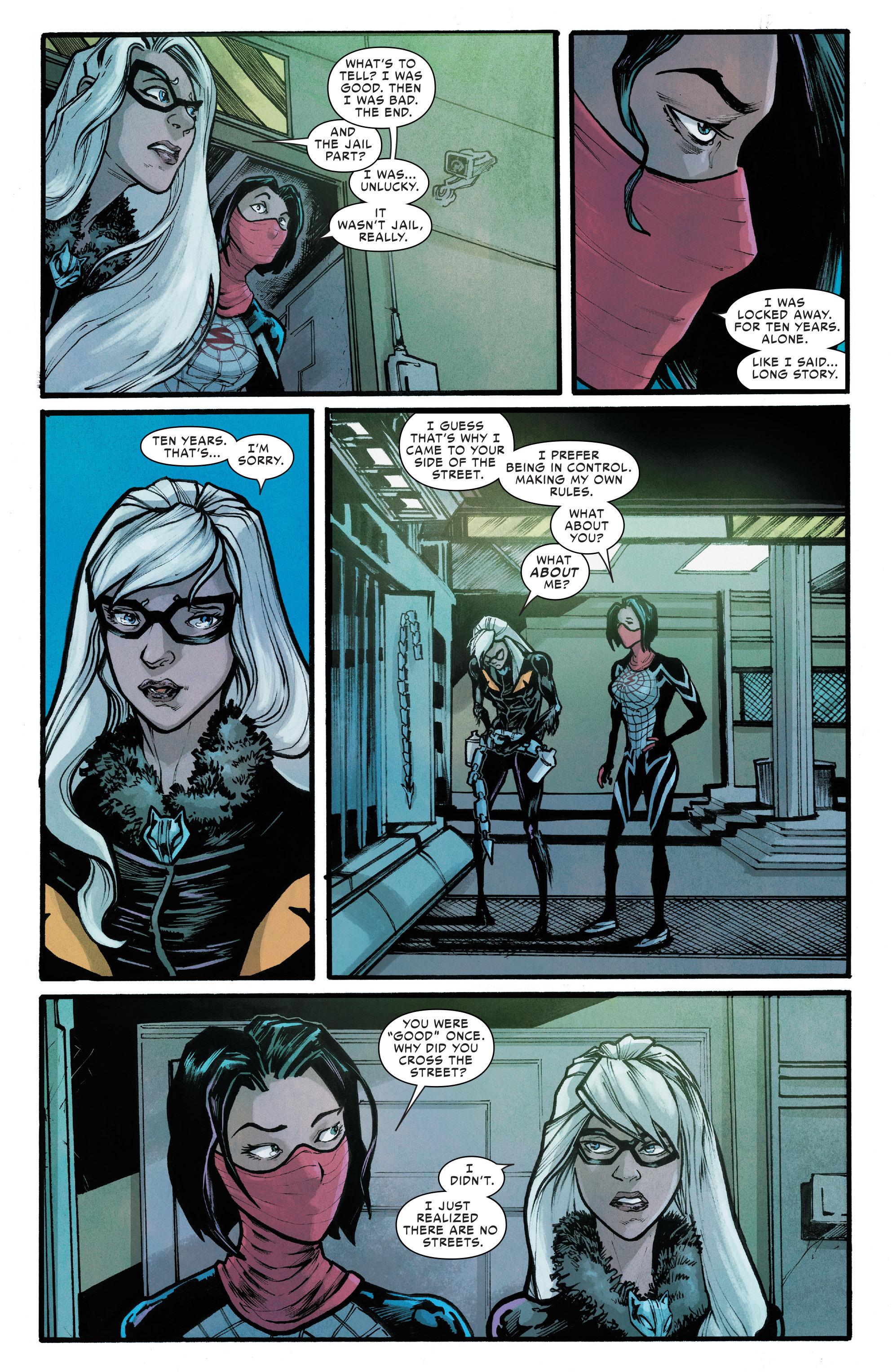 Read online Silk (2016) comic -  Issue #6 - 8
