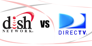 dish vs directv, dish network, dish network vs directv, directv channels, directv or dish, compare dish to directv, dish vs directv channel comparison, satellite service providers