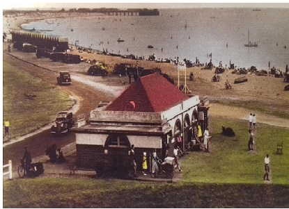 Post Card of Stokes Bay